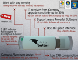Batto IR remote control PC full V2EG